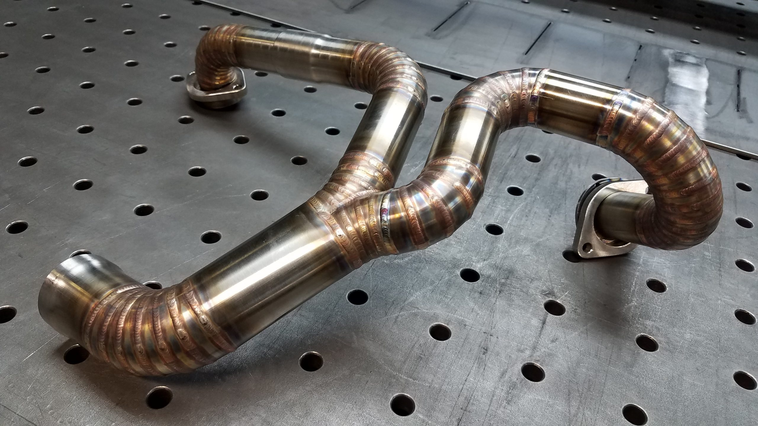 Custom Stainless Steel Exhaust For Yamaha Warrior 1700 Lots Of Pics 6l Designs